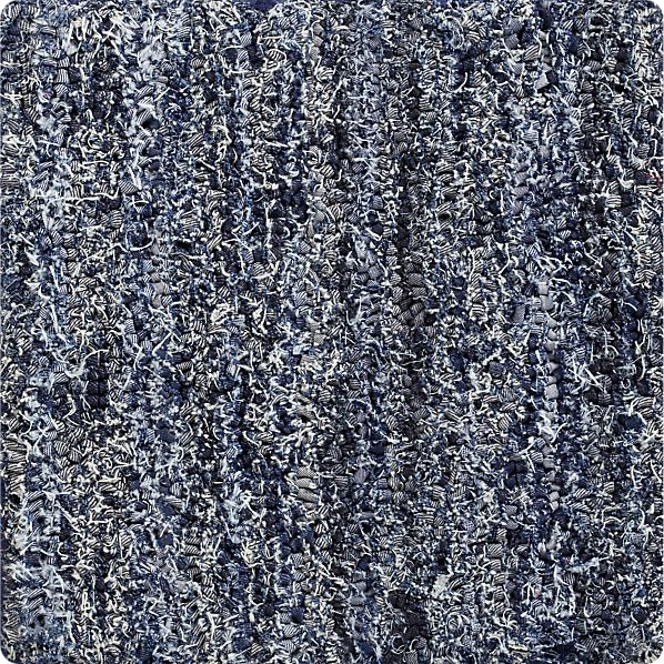 "Denim 12"" sq. Rug Swatch"