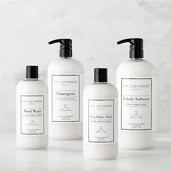 The Laundress® Detergent Collection (Wool Wash, Detergent, Fine Fabric Wash, Fabric Softener)