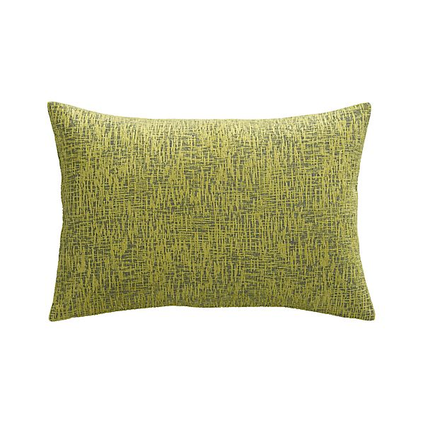 "Devin Dijon 18""x12"" Pillow with Feather-Down Insert"