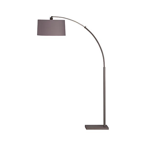 Dexter Floor Lamp in Floor Lamps, Torchieres | Crate and Barrel