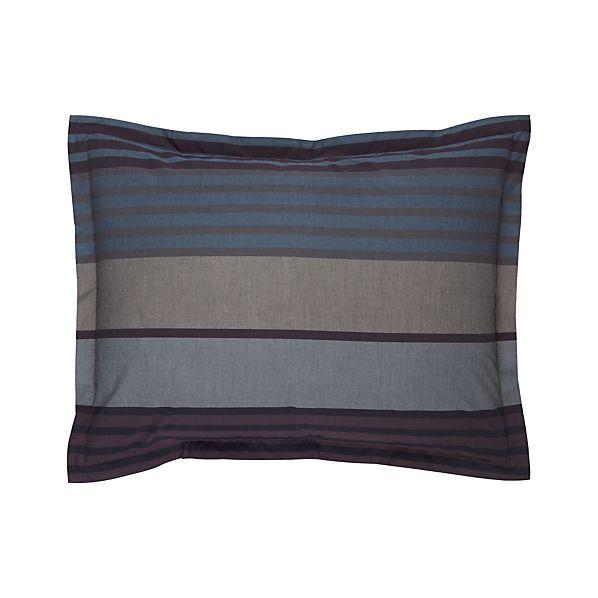Dillan Indigo Standard Pillow Sham