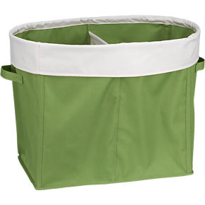 Divided Green Tote