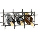 Division Bronze 6-Bottle Wine Rack