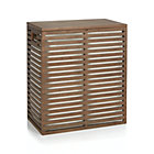 Dixon Bamboo Hamper with liner.