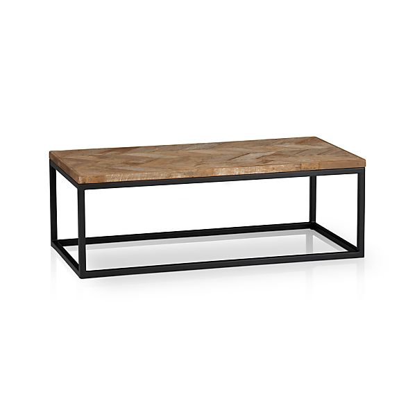 dixon coffee table in coffee tables side tables crate and barrel