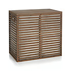 Dixon Large Bamboo Hamper with Liner.