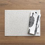 Dixon Placemat and Feast White Napkin