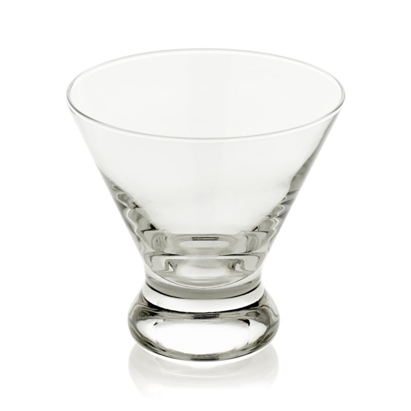 Cocktail hour chameleon shifts from serving martinis to fresh-squeezed juice. Sturdy sham tapers and flares to a great shape that's suitable for entertaining or everyday use.<br /><br /><NEWTAG/><ul><li>Glass</li><li>Dishwasher safe</li><li>Made in USA</li></ul>