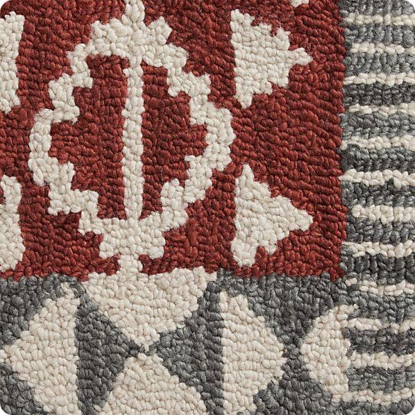 "Doba Wool 12"" sq. Rug Swatch"