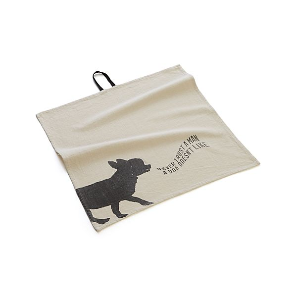 Dog Bar Towel
