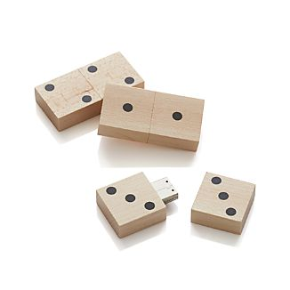 Domino USB Drives Set of Three
