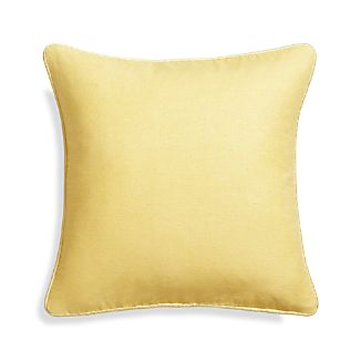 "Dorsay Lemon 18"" Pillow"