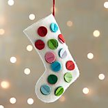 Dot Stocking Ornament