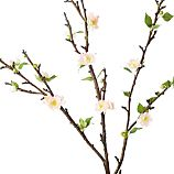 Double Cherry Blossom Artificial Flower Stem