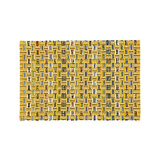 Dover Yellow Rag Rug