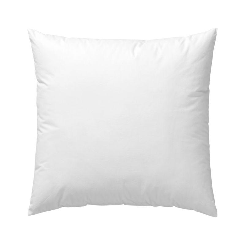 Lofty polyester fiberfill cuddles just like feather down as a soft and sumptuous hypoallergenic alternative. Bed pillows also available.<br /><br /><NEWTAG/><ul><li>100% polyester fill</li><li>100% cotton shell</li><li>23.5 oz. fill</li><li>Machine wash, tumble dry low</li><li>Do not dry clean</li><li>Made in China</li></ul>