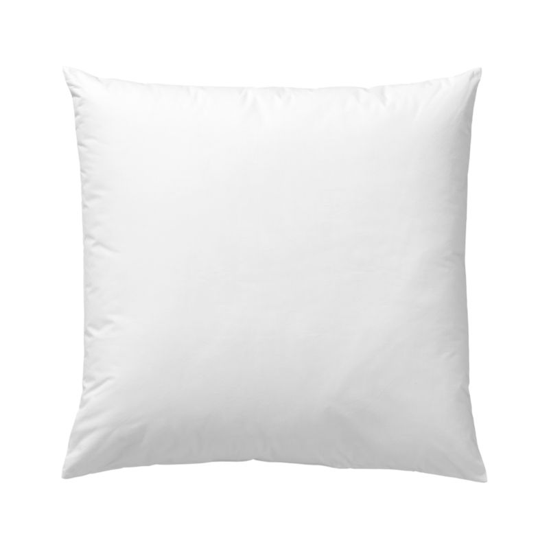 Lofty polyester fiberfill cuddles just like feather down as a soft and sumptuous hypoallergenic alternative. Bed pillows also available.<br /><br /><NEWTAG/><ul><li>100% polyester fill</li><li>100% cotton shell</li><li>Machine wash, tumble dry low</li><li>29 oz. fill</li><li>Do not dry clean</li><li>Made in China</li></ul>