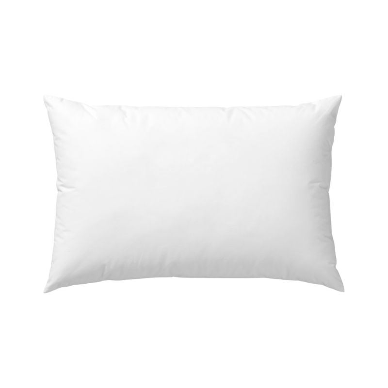 Lofty polyester fiberfill cuddles just like feather down as a soft and sumptuous hypoallergenic alternative. Bed pillows also available.<br /><br /><NEWTAG/><ul><li>100% polyester fill</li><li>100% cotton shell</li><li>19 oz. fill</li><li>Machine wash, tumble dry low</li><li>Do not dry clean</li><li>Made in China</li></ul>
