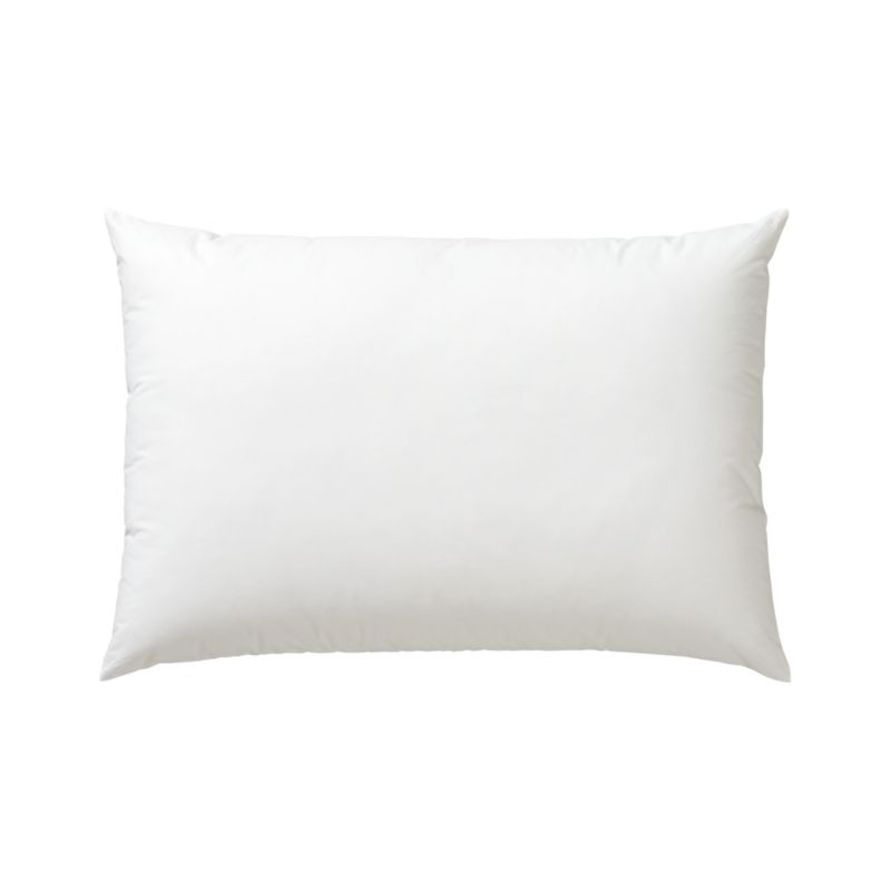 Lofty polyester fiberfill cuddles just like feather down as a soft and sumptuous hypoallergenic alternative. Bed pillows also available.<br /><br /><NEWTAG/><ul><li>100% polyester fill</li><li>100% cotton shell</li><li>29 oz. fill</li><li>Machine wash, tumble dry low</li><li>Do not dry clean</li><li>Made in China</li></ul>