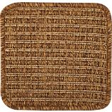 "Drift Brown Indoor-Outdoor 12"" sq. Rug Swatch"