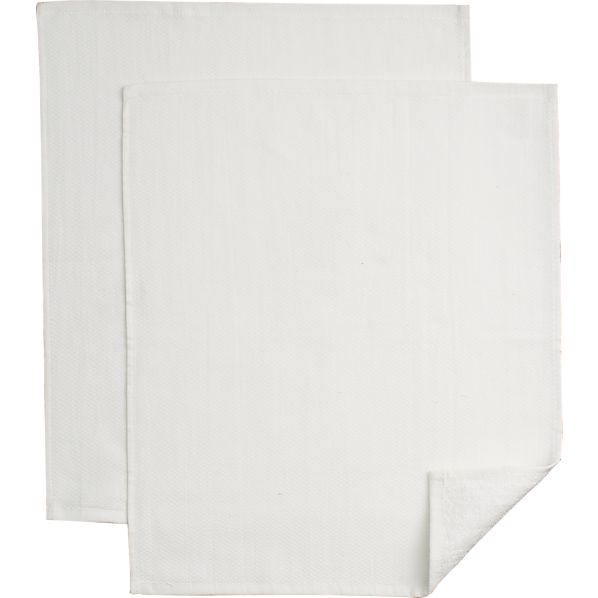 Set of 2 Dual-Surface Towels
