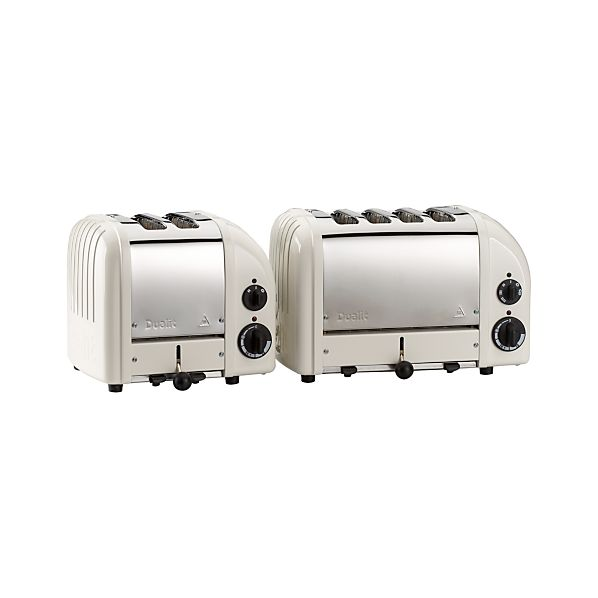 Dualit® NewGen Canvas White Toasters