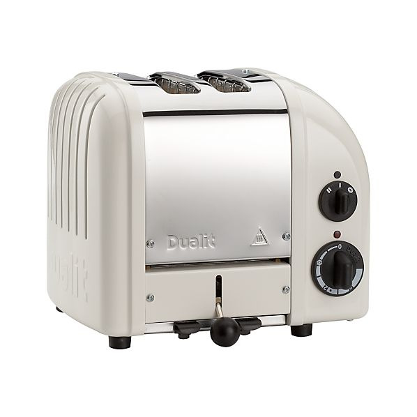 Dualit ® NewGen Canvas White 2-Slice Toaster
