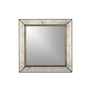 Clarendon large wall mirror crate and barrel for Big square wall mirror