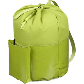 Green Laundry Bag