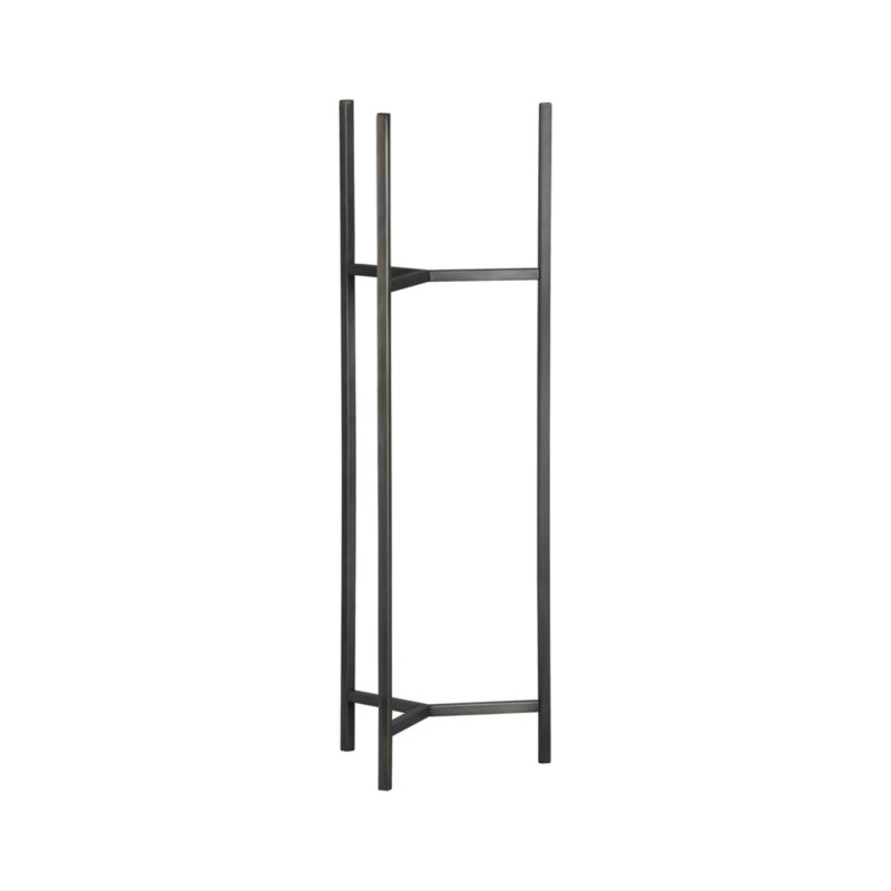 Handcrafted iron stand with a warm antiqued bronze finish frames our Dundee planter with slender legs and tripod crossbar supports.<br /><br /><NEWTAG/><ul><li>100% iron</li><li>Antique bronze finish</li><li>For indoor or outdoor use</li><li>Made in India</li></ul>