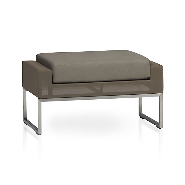 Dune Ottoman with Cushion
