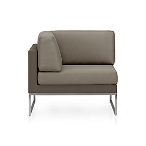 Dune Sectional Corner with Cushions