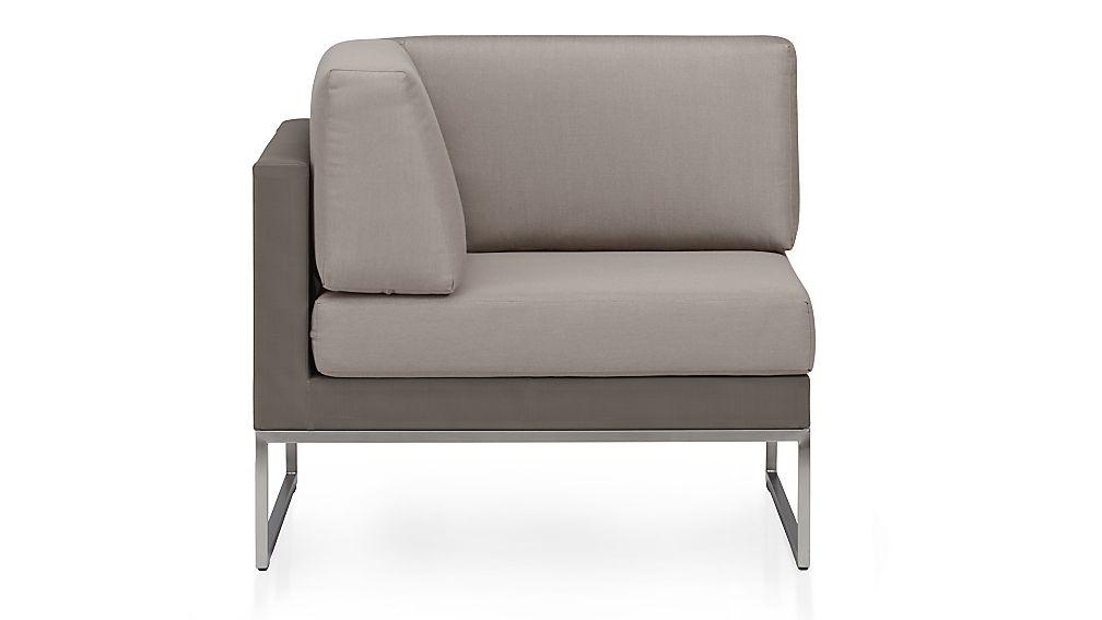 Dune Corner Chair with Cushions