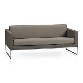 Dune Sofa with Sunbrella Taupe Cushion
