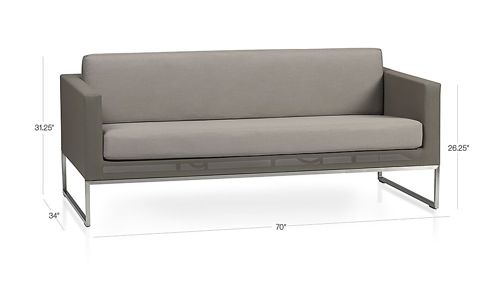Dune Sofa with Cushion Dimensions