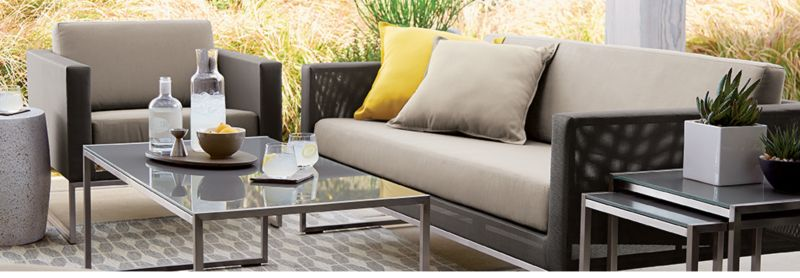 Dune Outdoor Furniture Collection. ➤. Crate And Barrel ... Part 72
