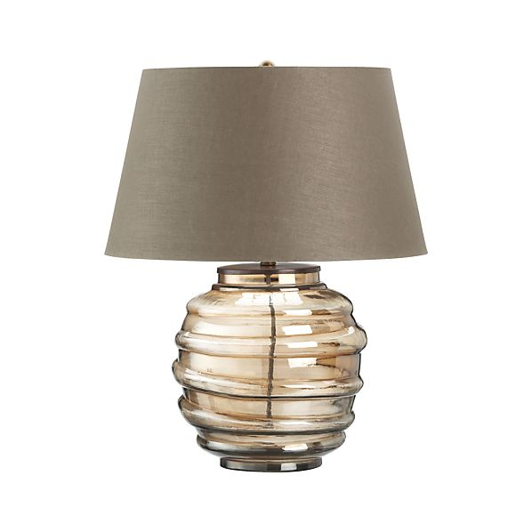 Dusk Table Lamp in Table & Desk Lamps | Crate and Barrel