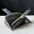 Casabella® Grey Dustpan and Brush Set.