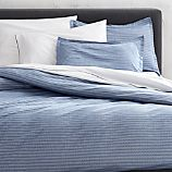 Dylan Blue Twin Duvet Cover