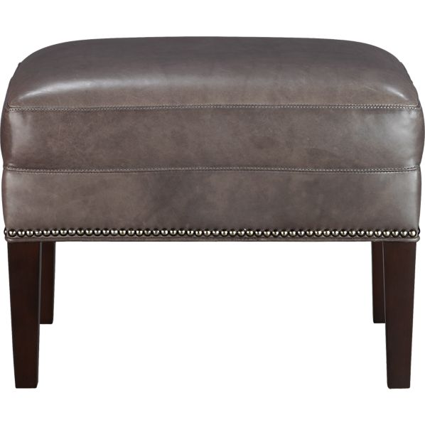 Dylan Leather Ottoman