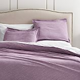 Dylan Purple Full-Queen Duvet Cover