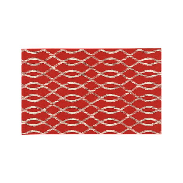 Dyna Coral Indoor-Outdoor 5'x8' Rug