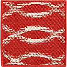 Dyna Coral Indoor-Outdoor  Rug Swatch.
