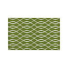 Dyna Green Indoor-Outdoor Rug.