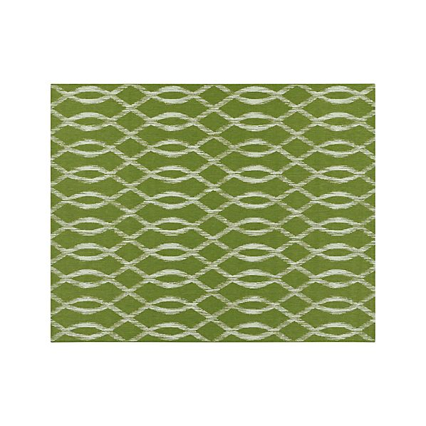 Dyna Green Indoor-Outdoor 8'x10' Rug