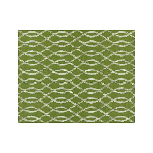 Dyna Green Indoor-Outdoor 8'x10' Rug