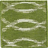 "Dyna Green Indoor-Outdoor 12"" sq. Rug Swatch"