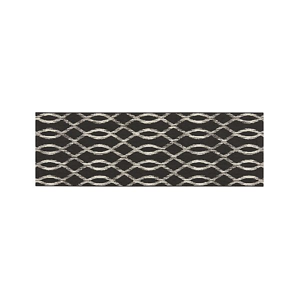 Dyna Grey Indoor-Outdoor 2.5'x8' Runner