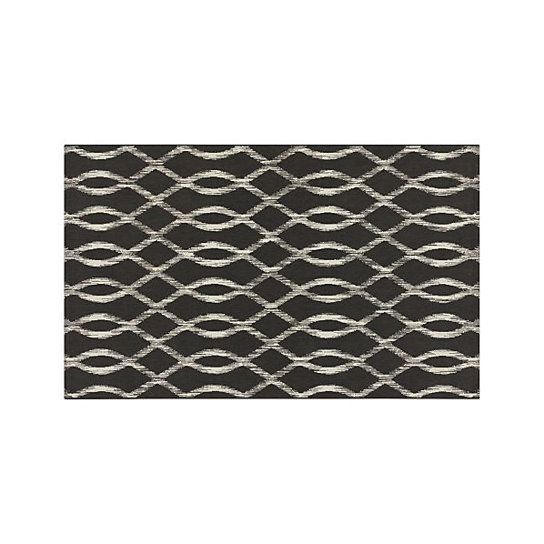 Dyna Grey Indoor-Outdoor 5'x8' Rug