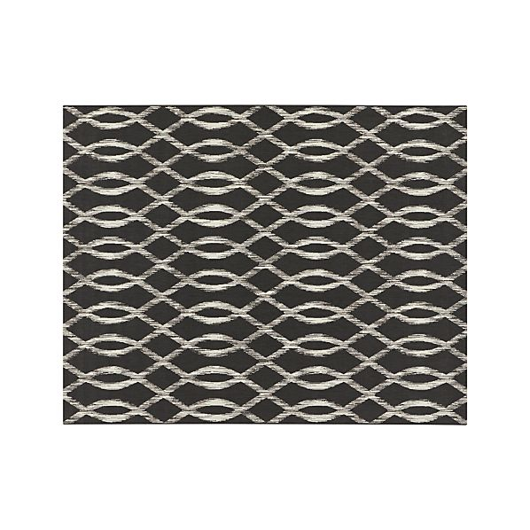 Dyna Grey Indoor-Outdoor 8'x10' Rug